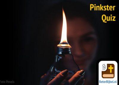 6 Pinksterquizzen en promotie voor BeterBijbel.nl