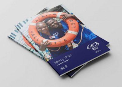 Pracht brochure voor Mercy Ships
