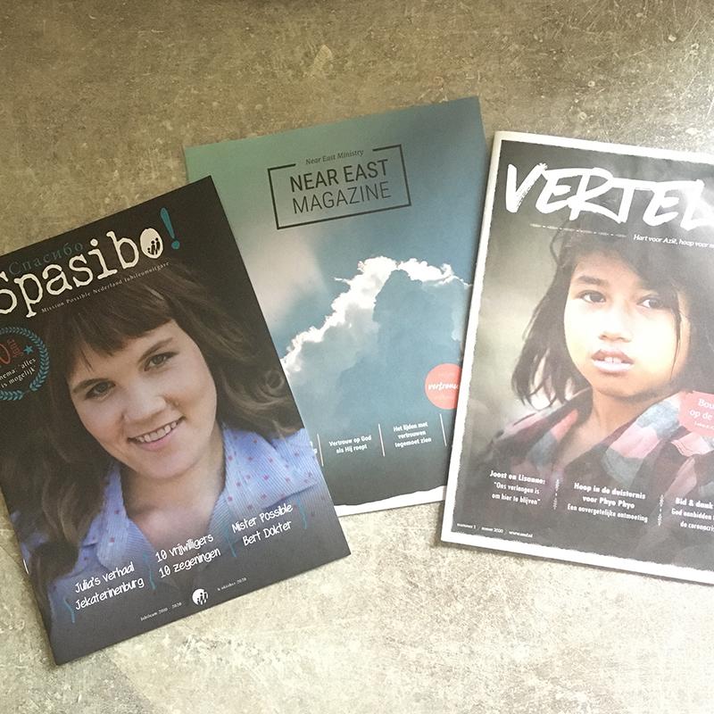 3 magazines Bureau Jairo tijdschriften