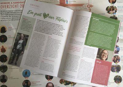 Spin in het web bij het derde OMF-magazine